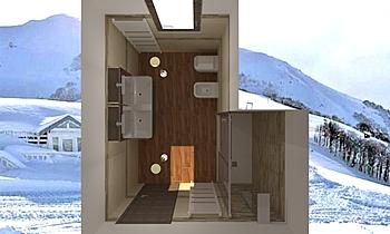 MODERN BATH IL Modern Fürdőszoba Gianni Mignone