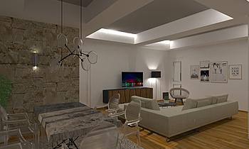 spalloni Modern Cameră de zi FABIANI FEDERICA
