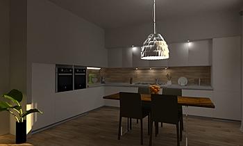 Cucina Moderna Klasický Kuchyň Beatrice Dolcetti