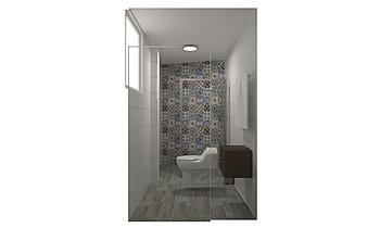 baño 2 Classique Salle de bain Espacio Diez Arquitectura & Diseño