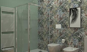 BAGNO PROVA Tropical Bathroom Mario Rodi