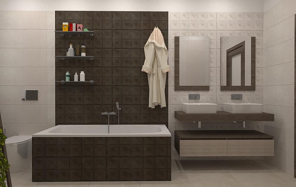 001 Moderní Koupelna Domenico Di Caprio