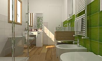 1 Moderno Baño De Gregoris -  Dove Nasce Casa