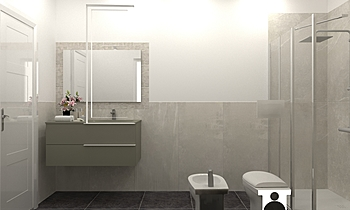 BAGNO-TARTABINI DINO Klasický Koupelna JESSICA ORAZI