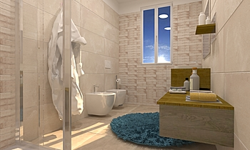 11 Moderno Baño Lorenzo Bellavita