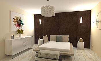 BedRoom_ArttekSamba+Argos... Contemporary Bedroom María Crespo González