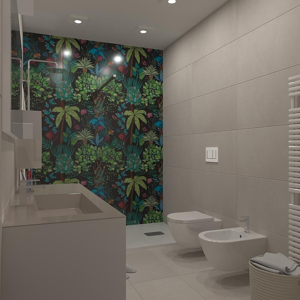 Paper Contemporary Bathroom Mario Rodi
