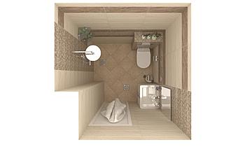MEDINA BEIGE ZAHARINA Classic Bathroom Svilen Yankov