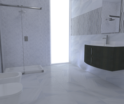 Opal Modern Bathroom Gayafores Porcelain Tiles