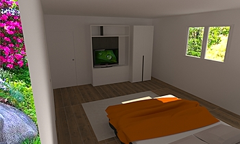 LE BERT Classic Bedroom LIVING STORE NANTES
