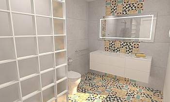 Baño Clasico 2 Classic Bathroom Grupo  UNAMACOR