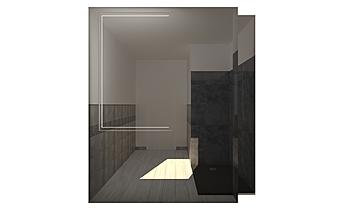 BAGNO 1° PIANO_KERINOX Modern Bathroom GUIDO SOFFRITTI