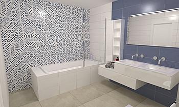 Proyecto Baño Clásico Clasico Baño Grupo  UNAMACOR