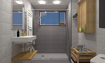 RICARDO SANCHEZ 3-BAÑO 2-... Moderno Baño María Vázquez Barros