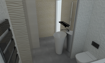 Bagno camera 6 Modern Bathroom arturo addesso