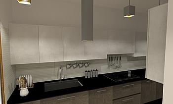 cucina Contemporary Kitchen Luana Cossu