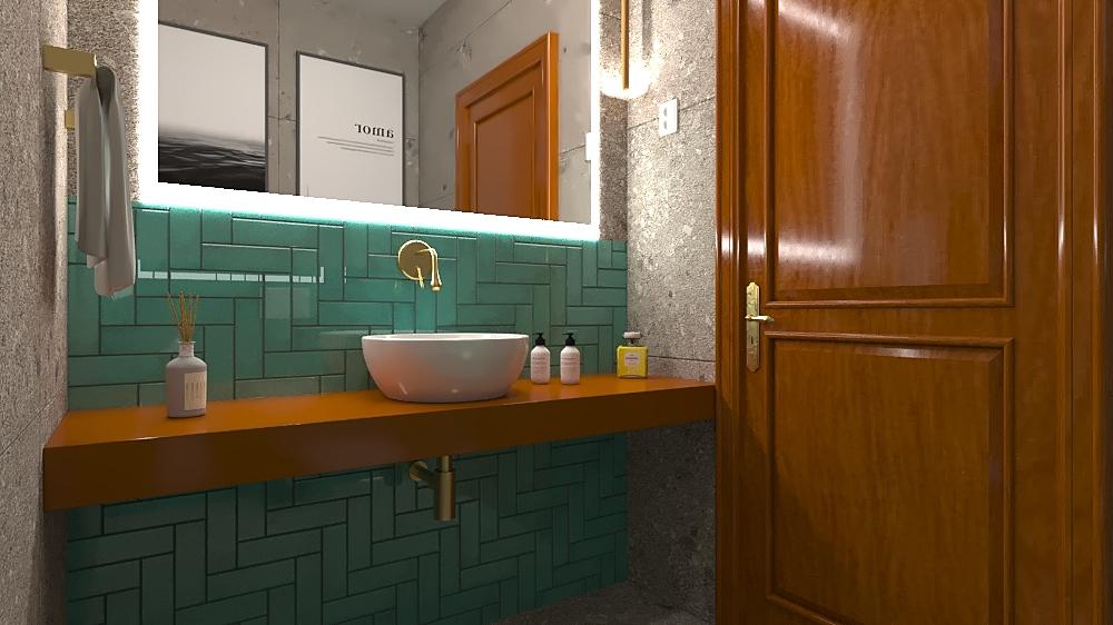 is social_cascais Projeto... Contemporary Bathroom Sandra  Carvalho
