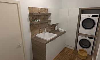 lavanderia Contemporáneo Baño GREGOLO SRL