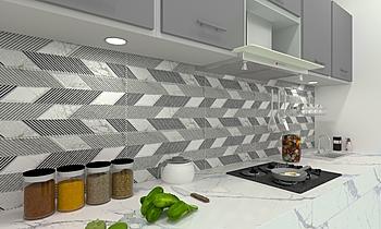 Kitchen Moderno Cocina BIBEKMAYA SAHOO
