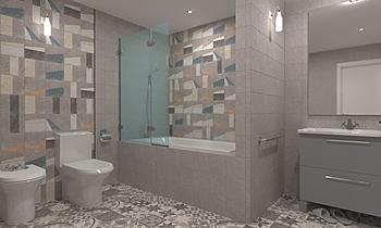 Baño Colección Nassau de ... Moderno Baño ParaTuReforma.com Tienda online