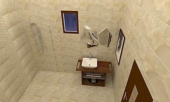 Onix Marfil Classic Bathroom sama alkhaleej