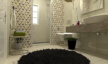 Guest bathroom Weman Klasický Koupelna Zarrugh Company