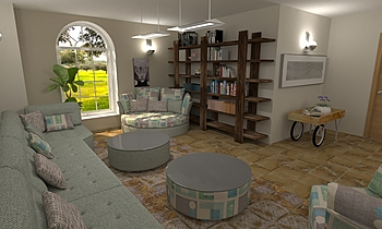 Sala de estar  Classic Living room Grupo  UNAMACOR