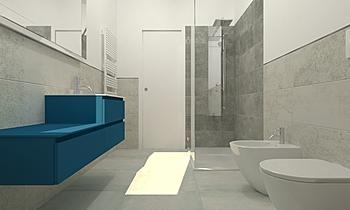 BAGNO SERVIZIO Classic Bathroom Viviana Pusceddu