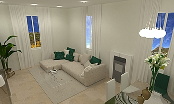beatriz salon Contemporary Living room gonzalo y mariano  soler