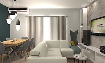 Kitchen & Living Modern Living room Fratelli  Marrazzo