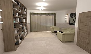DCC3000 - CRISTACER 05 Moderní Obývací pokoj Alberto Firmat Várez
