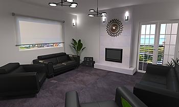 DCC3000 - CRISTACER 01 Modern Living room Grupo DCC3000