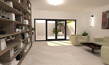 DCC3000 - CRISTACER 05 Modern Living room Grupo DCC3000