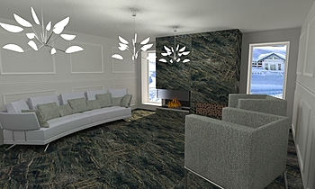 DCC3000 - CRISTACER 04 Modern Living room Grupo DCC3000