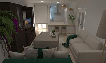 francisco bascon revilla ... Modern Living room gonzalo y mariano  soler