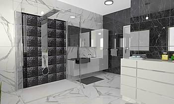 Project 1 - Roma Modern Bathroom 3C srl