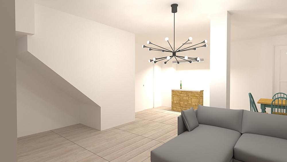 15 - CASA PRIVATA Modern Cameră de zi Lorenzo Bellavita