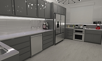 PR_17 Modern Kitchen Sandra  Carvalho