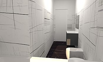 sahara noir Balletta Modern Bathroom salvino imburgia