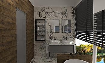 Allmarble Capraya Modern Bathroom Studio Sense