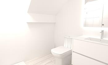 Javito y Noe baño bajo Classic Bathroom BdB MILAGROSA ESCOBAR MACÍAS