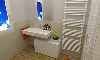 Gorini Giulia Contemporain Salle de bain FABBRI IDROTECNOTERMICA srl FABBRI