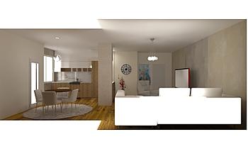 Argent_Living room Contemporâneo Sala de estar Iliana Ovtcharova
