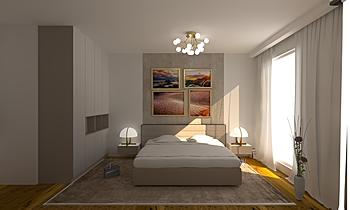 Argent_Bedroom 1 Kortárs Hálószoba Iliana Ovtcharova