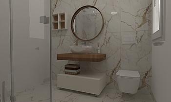 Marazzi Allmerble Silvia ... Modern Bathroom Ceramiche Rimanelli