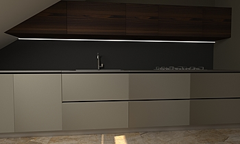 casa levante Contemporary Kitchen cristiano di fiore