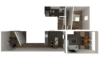 CASA MUZZILLO Modern Living room Francesca Faraoni