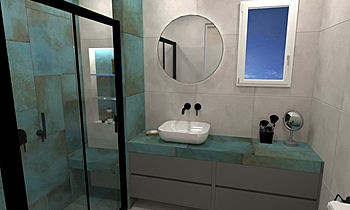 TRACE PAIDIKO Modern Bathroom HOUSE LTD