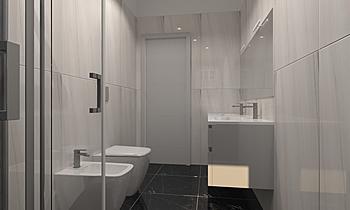 Bagno Posh Modern Bathroom ROBERTO CAPACCHIONE