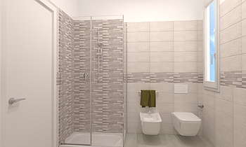 cristina Moderne Salle de bain FABBRI IDROTECNOTERMICA srl FABBRI